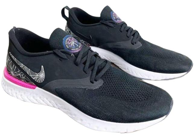 Item - Pink Black Odyssey React Flyknit 2 'run To A Magical Place' Sneakers Size US 12 Regular (M, B)