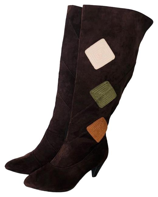 Item - Brown . Boots/Booties Size US 9.5 Wide (C, D)