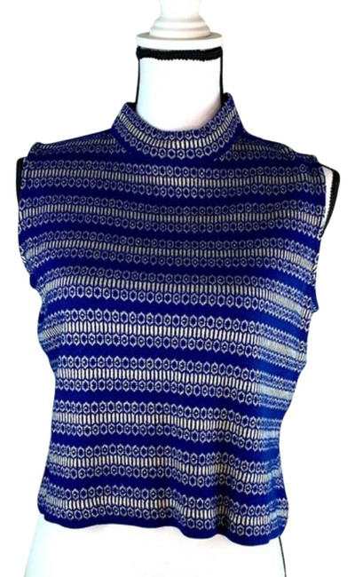 Item - In Royal and Size Small Blue Gold Sweater