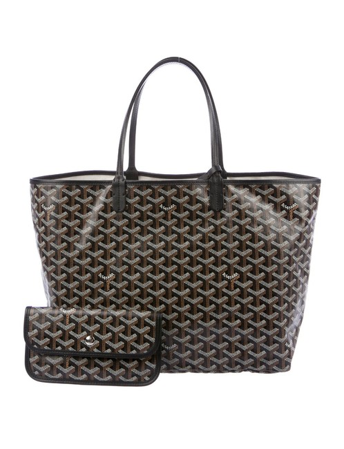 Item - St. Louis Pm Black Coated Canvas Tote