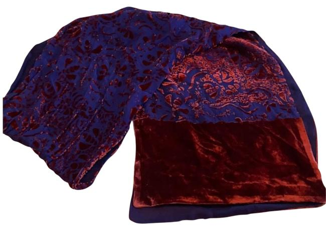Item - Burnt Velvet Silk Scarf/Wrap
