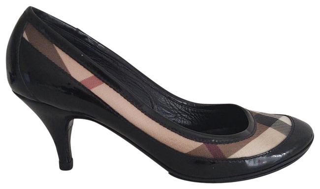 Item - Black/Beige Nova Check Pumps Size US 6 Narrow (Aa, N)
