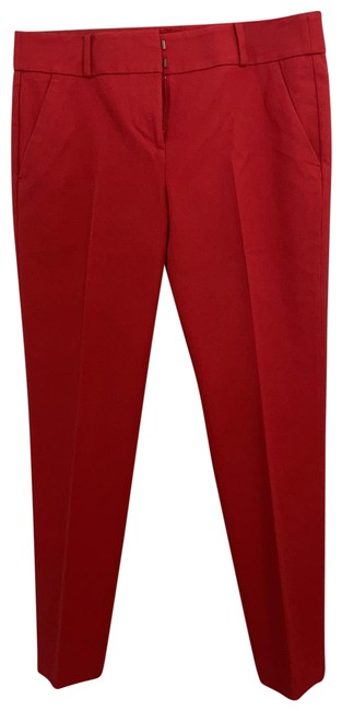 Item - Red Marisa Ankle Trousers Pants Size 10 (M, 31)