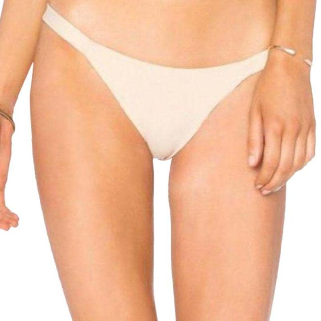 Item - Cream Tan Heather Mini In Tapioca Bikini Bottom Size 12 (L)