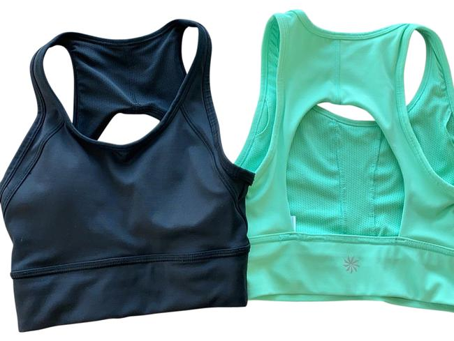 Item - Black and Green Dare Activewear Sports Bra Size 00 (XXS)