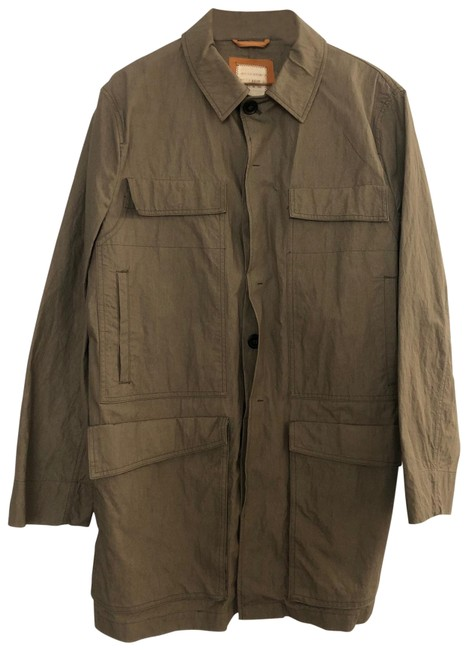 Item - Olive Green Lightweight Trench Coat Jacket Size 8 (M)