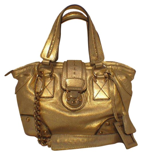 Preload https://item3.tradesy.com/images/dolce-and-gabbana-dolce-and-gabbana-handbag-gold-leather-shoulder-bag-286732-0-0.jpg?width=440&height=440