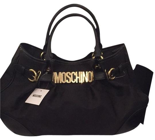 Preload https://item5.tradesy.com/images/moschino-icon-black-nylon-leather-tote-2867359-0-0.jpg?width=440&height=440