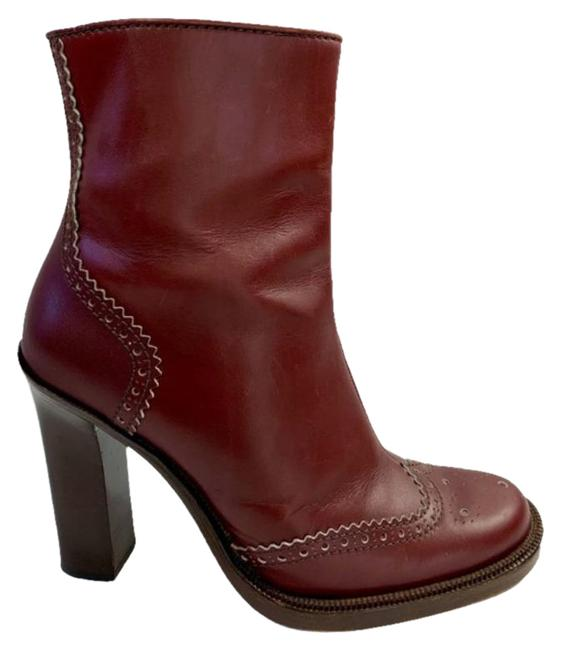 Item - Brown Red Cabernet Boots/Booties Size EU 38.5 (Approx. US 8.5) Regular (M, B)