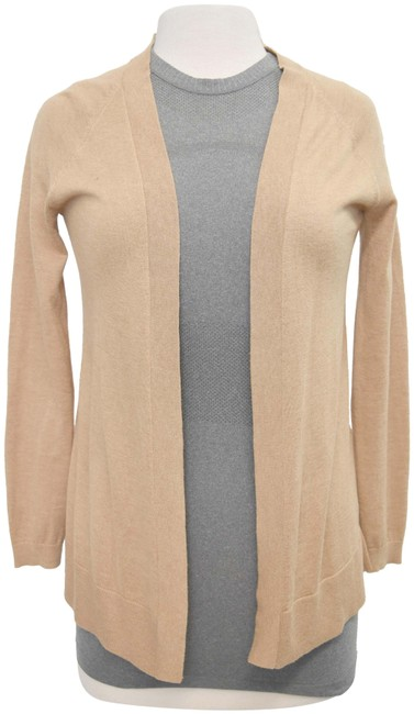 Item - Tan XS Silk Blend Cardigan Size 2 (XS)