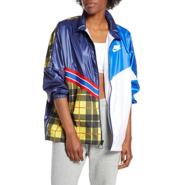 Item - Blue Nsw Woven Large Activewear Outerwear Size 12 (L)