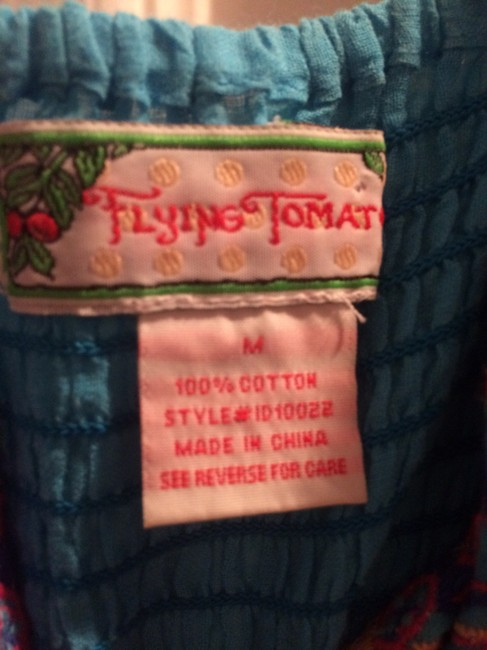 Flying Tomato short dress Print Embroidered on Tradesy