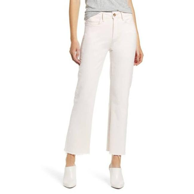 Item - Pink Atley High Waist Ankle (French Rose)-30 Flare Leg Jeans Size 32 (8, M)