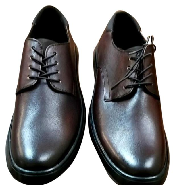 Item - Brown New York Men's Round-toe Lace-up Dress Sneakers Formal Shoes Size US 11 Regular (M, B)