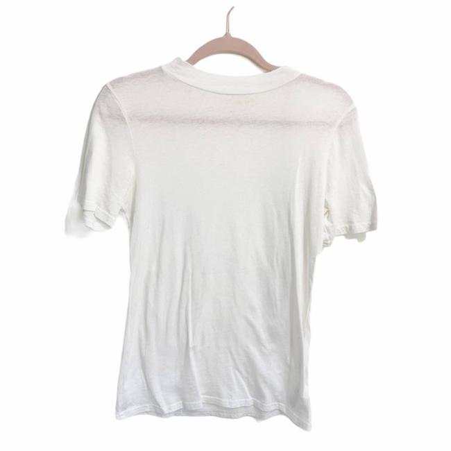 Item - White M//C Michelle By Commute Sleeve S Tee Shirt Size 4 (S)