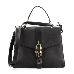 Item - Aby Day Large Black Leather Cross Body Bag