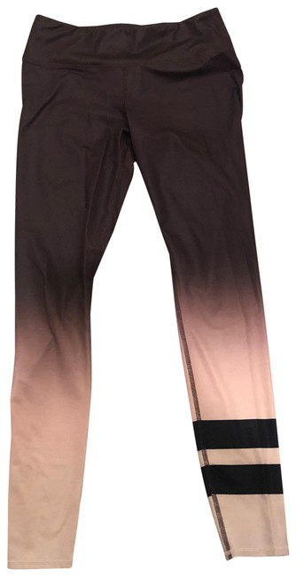 Item - Brown/ Black/ Tan Faded Price Negotiable Activewear Bottoms Size 8 (M)