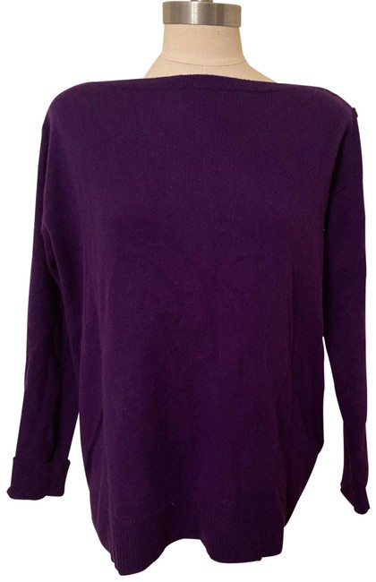 Item - Cashmere Rl Purple Sweater