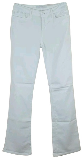 Item - White Boot Cut Jeans Size 27 (4, S)