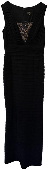 Item - Navy Blue Occasions Long Formal Dress Size 4 (S)