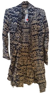 Bell short dress Blue Batik on Tradesy