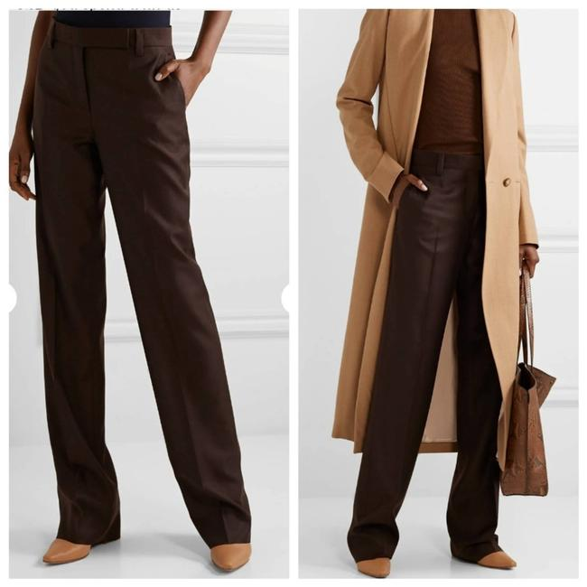 Item - Brown Wide Straight Leg Pants Size 6 (S, 28)