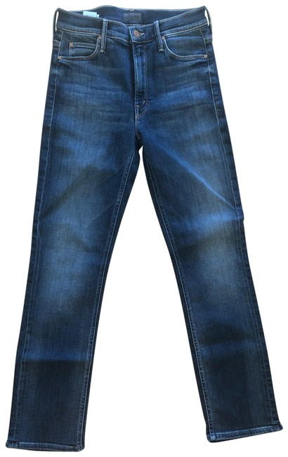 Item - Medium Washed Denim The Mid Rise Dazzler Ankle Straight Leg Jeans Size 2 (XS, 26)