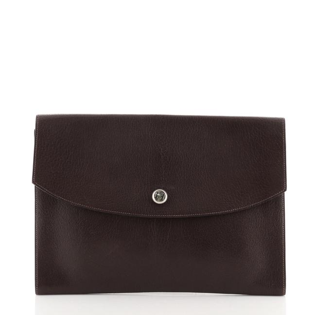 Item - Rio Gm Brown Leather Clutch