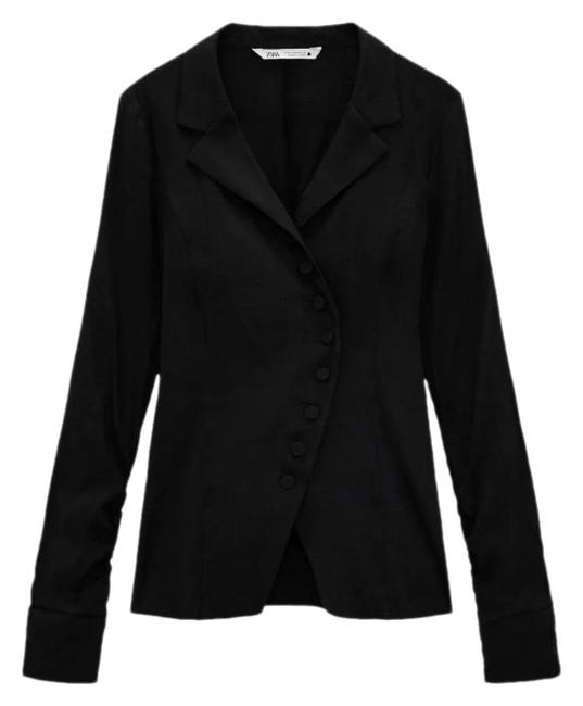 Item - Black Limited Edition Rustic Blazer Size 0 (XS)