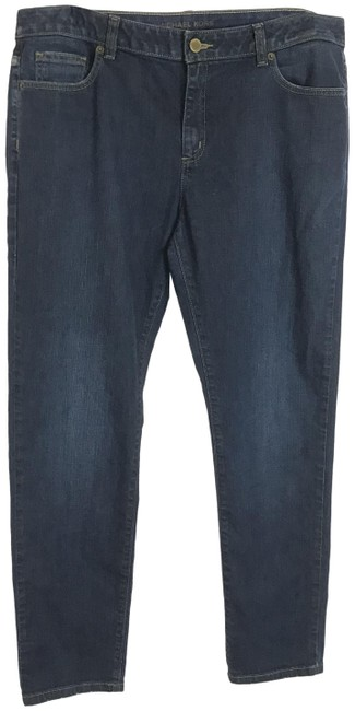 Item - Blue Dark Rinse Wash Skinny Jeans Size 36 (14, L)
