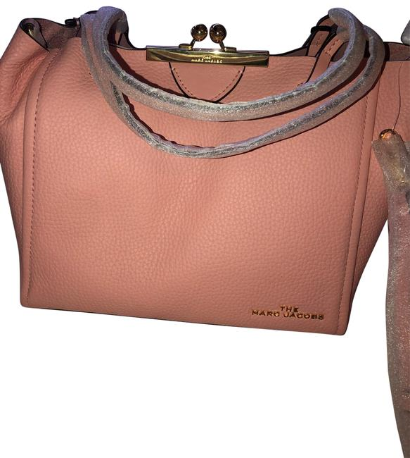 Item - The Pink Leather Satchel