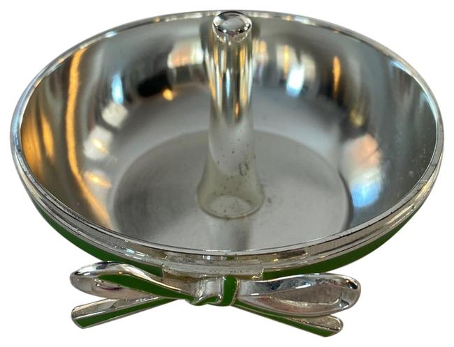 Item - Silver and Green Vienna Lane Ring Holder