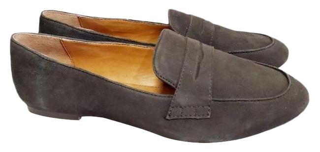 Item - Gray Penny Loafers Flats Size US 7 Regular (M, B)