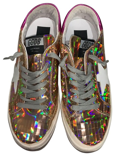 Item - Rose Gold and Pink Superstar Sneakers Size EU 39 (Approx. US 9) Regular (M, B)