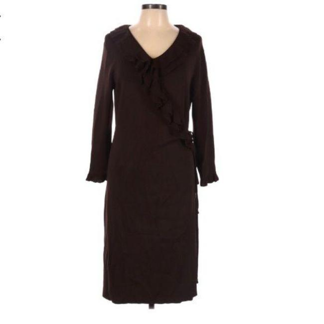 Item - Brown Mid-length Casual Maxi Dress Size 12 (L)