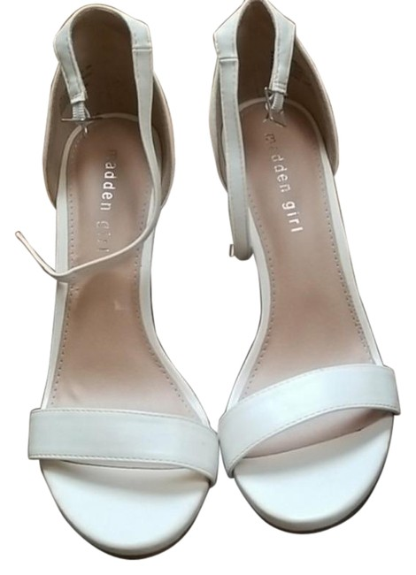 Item - White Brown blue By Sandals Size US 8 Regular (M, B)