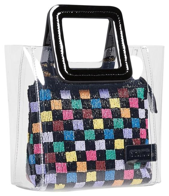Item - Mini Shirley Beaded Black Tote