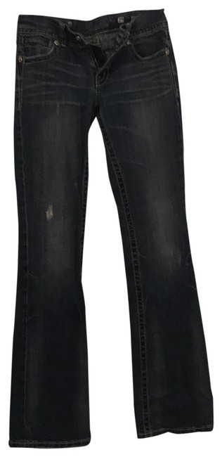 Item - Distressed Boot Cut Jeans Size 8 (M, 29, 30)
