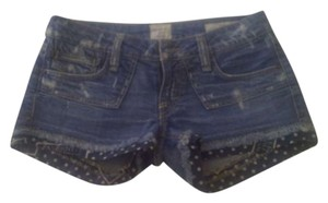 Taverniti So Jeans Mini/Short Shorts Denim Multi