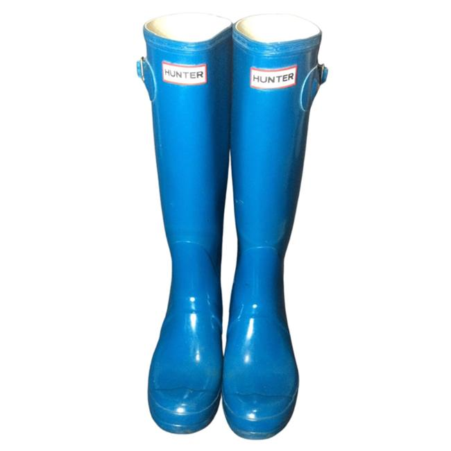 Item - Blue Rubber Rain Women's Boots/Booties Size US 9 Regular (M, B)