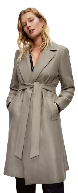 Item - Green Belted Coat Size 8 (M)
