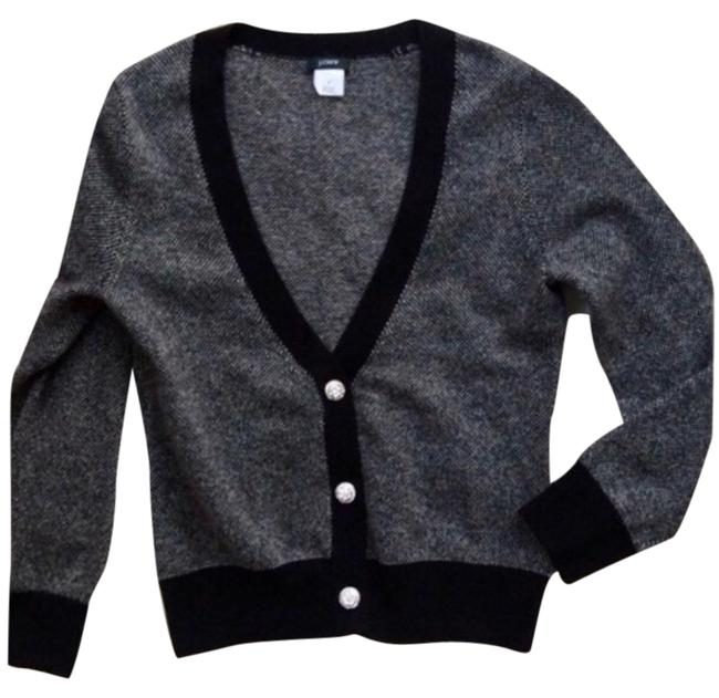 Item - Gray Cashmere with Rhinestone Buttons Cardigan Size 16 (XL, Plus 0x)
