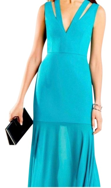 Item - The Population Shimmering Color-block Sequin Long Casual Maxi Dress Size 4 (S)