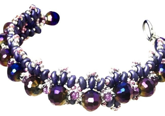 Item - Purple Violet Crown Bracelet