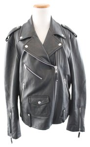 Theory Dalayan Leather Motorcycle Jacket