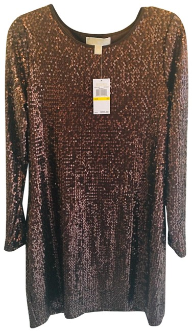 Item - Chocolate 40% Off Sequin New with Tag Mid-length Night Out Dress Size 10 (M)