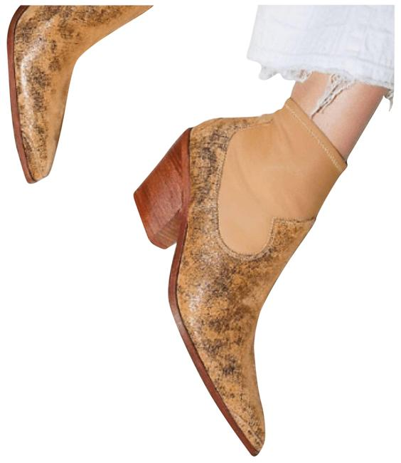 Item - Gold Jackson Western Metallic Boots/Booties Size EU 38 (Approx. US 8) Regular (M, B)