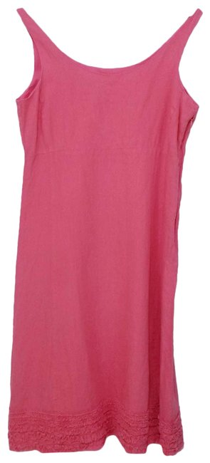 Item - Pink Linen Mid-length Casual Maxi Dress Size 2 (XS)