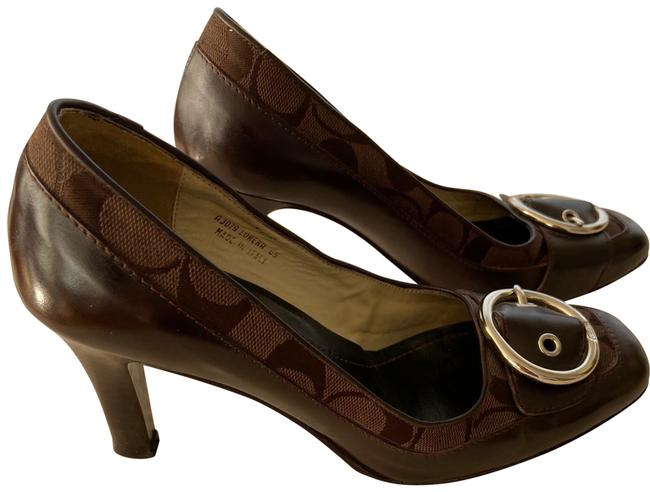 Item - Brown Signature Pumps Size US 7.5 Regular (M, B)