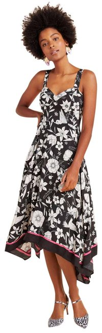 Item - Black Vivienne New Maeve Sweetheart Mid-length Casual Maxi Dress Size 6 (S)